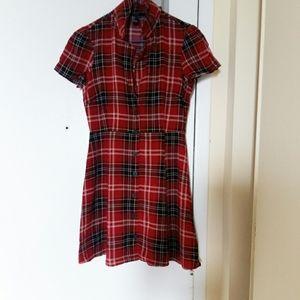 Forever 21 Plaid summer dress